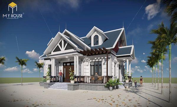 Mẫu sơn nhà đẹp - Ảnh 1