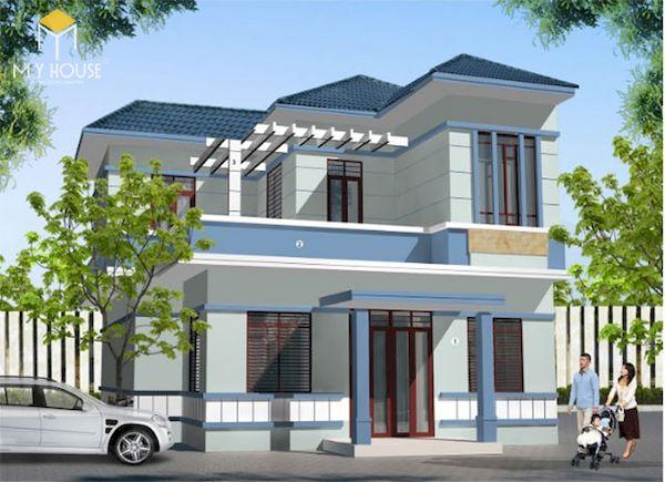 Mẫu sơn nhà đẹp - Ảnh 14