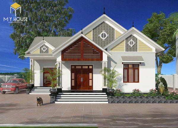 Mẫu sơn nhà đẹp - Ảnh 6
