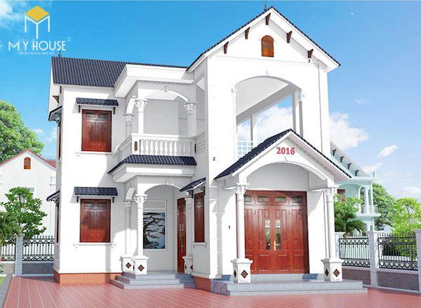 Mẫu sơn nhà đẹp - Ảnh 9