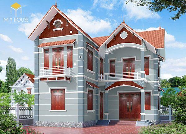 Mẫu sơn nhà đẹp - Ảnh 10