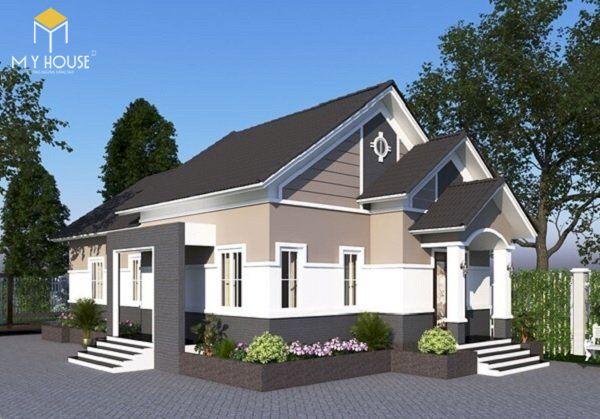 Mẫu sơn nhà đẹp - Ảnh 12