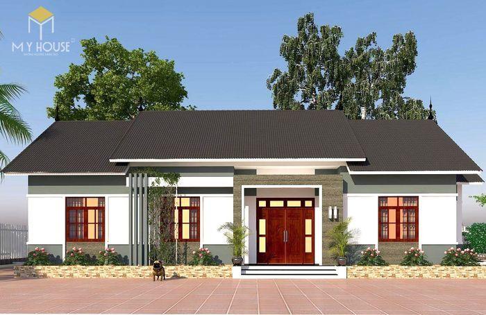 Kiến trúc nhà gỗ 3 gian truyền thống