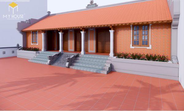 Thiết kế nhà gỗ đẹp - Mẫu 1