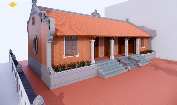 Thiết kế nhà gỗ đẹp - Mẫu 2