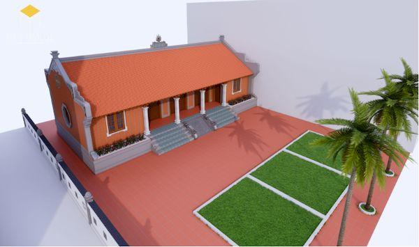 Thiết kế nhà gỗ đẹp - Mẫu 4