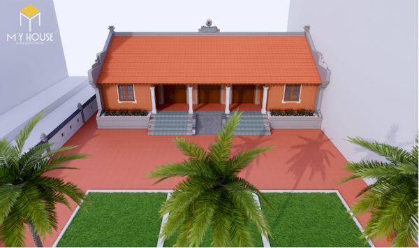 Thiết kế nhà gỗ đẹp - Mẫu 5