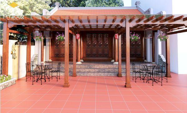 Thiết kế nhà gỗ đẹp - Mẫu 6