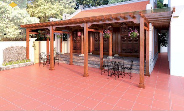 Thiết kế nhà gỗ đẹp - Mẫu 7