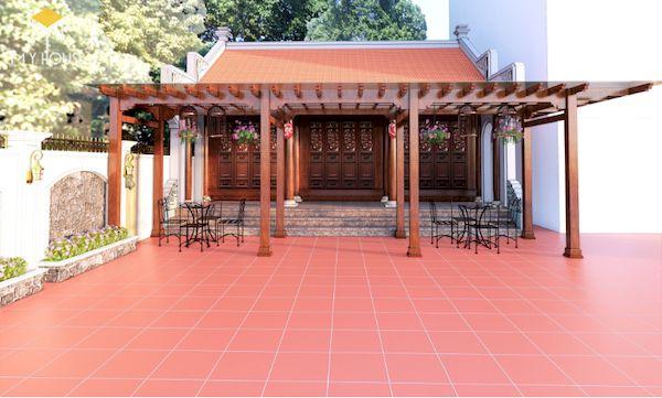 Thiết kế nhà gỗ đẹp - Mẫu 8