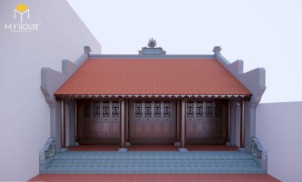 Thiết kế nhà gỗ đẹp - Mẫu 9