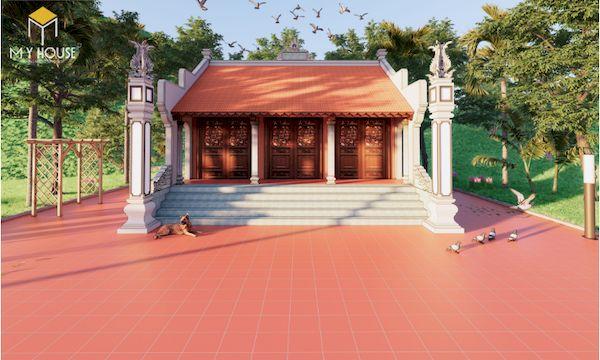 Thiết kế nhà gỗ đẹp - Mẫu 10