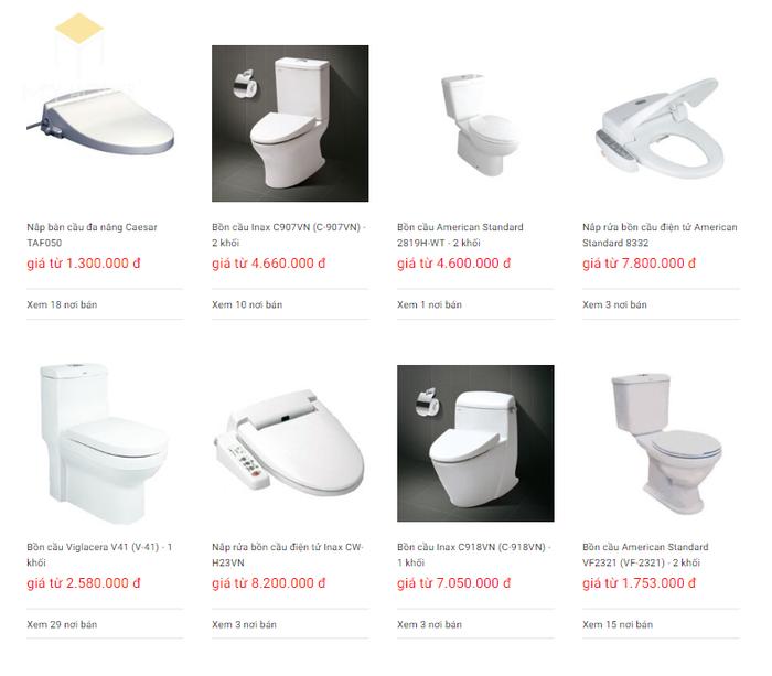 Báo giá nội thất phòng tắm - Bảng 13
