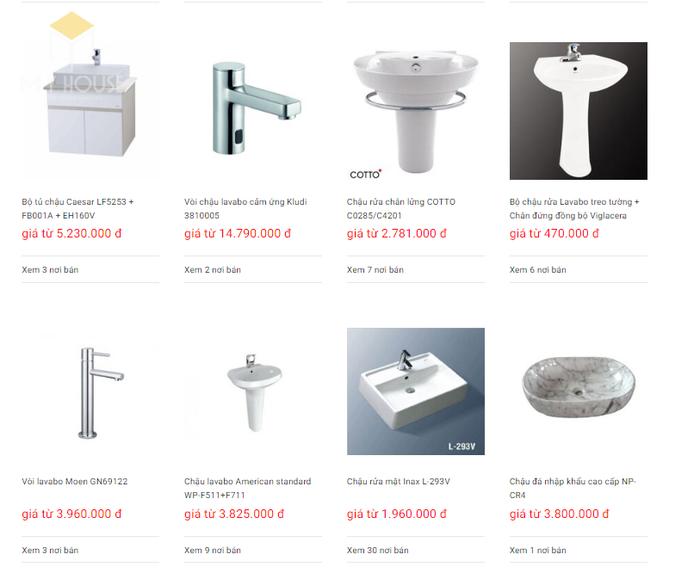 Báo giá nội thất phòng tắm - Bảng 21