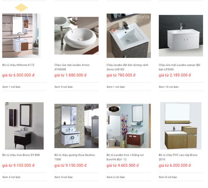 Báo giá nội thất phòng tắm - Bảng 20