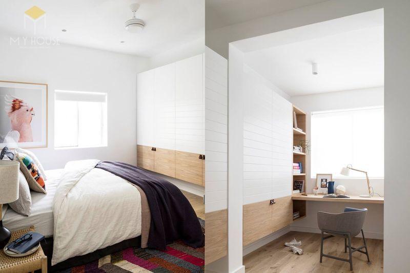 Phòng ngủ tối giản -mẫu 9