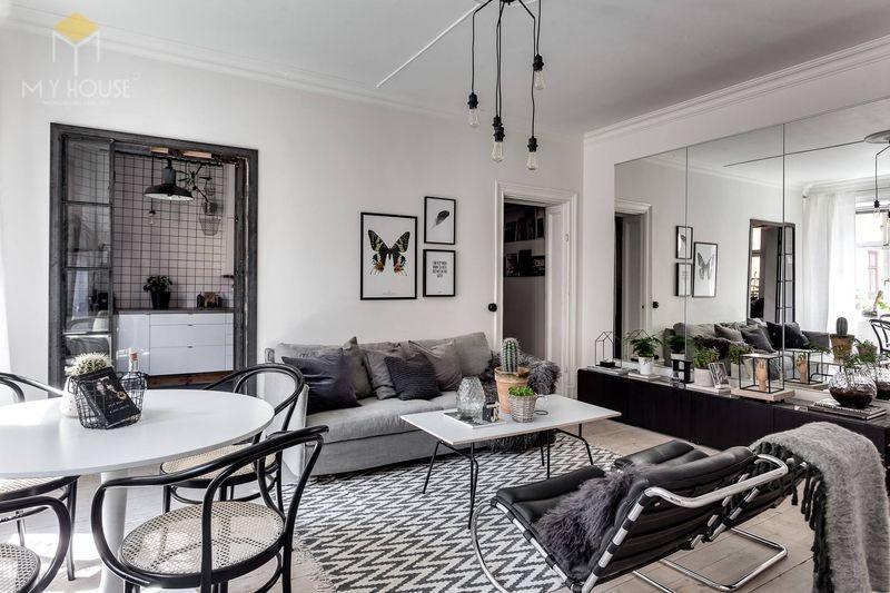 Trong những ngôi nhà tối giản được thiết kế nội thất phong cách Minimalist thì ánh sáng chính là thành phần trang trí quan trọng