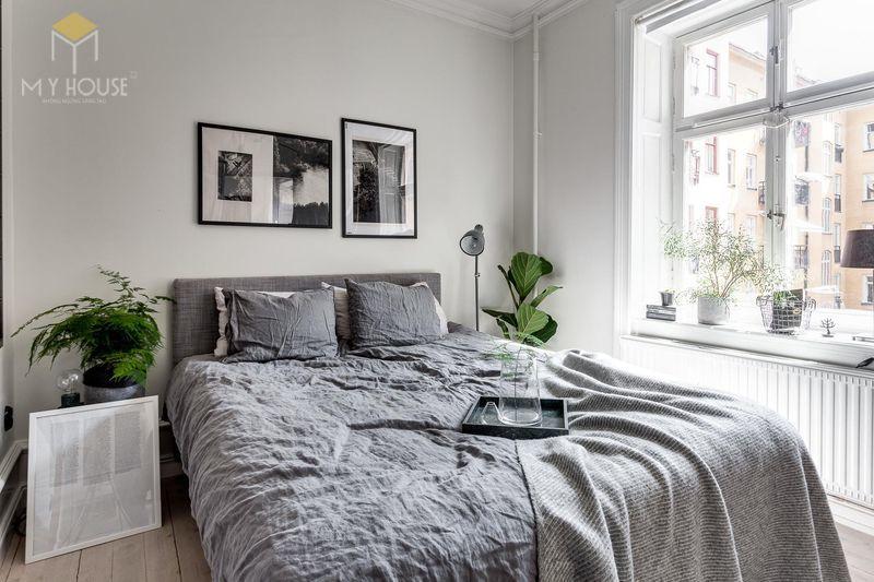 Phòng ngủ tối giản - mẫu 8