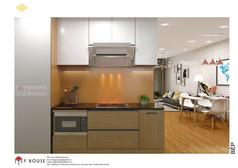 Khu vực phòng ăn và phòng bếp - View 2