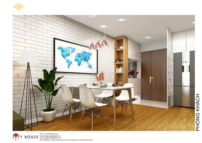 Khu vực phòng ăn và phòng bếp - View 1