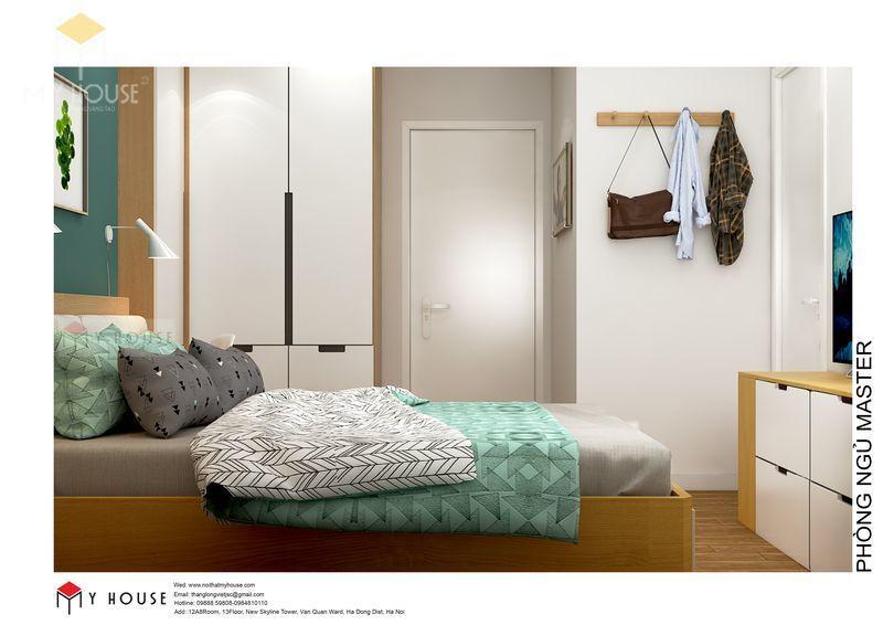 Nội thất phòng ngủ hiện đại tối giản - Phòng 2