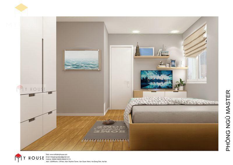 Nội thất phòng ngủ hiện đại tối giản - Phòng 1