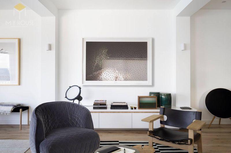 Khi xây nhà tối giản cho tới việc trang trí nhà tối giản hay bố trí nội thất tối giản, mọi thứ đều được hạn chế về màu sắc