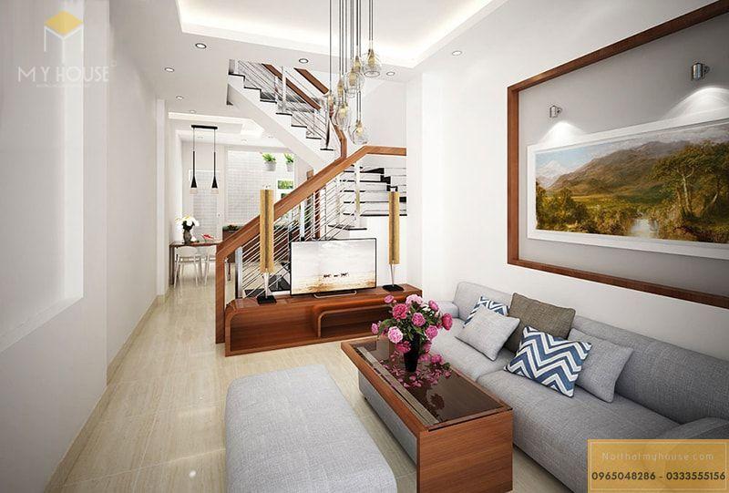 Nội thất phòng khách nhà nhỏ 30m2