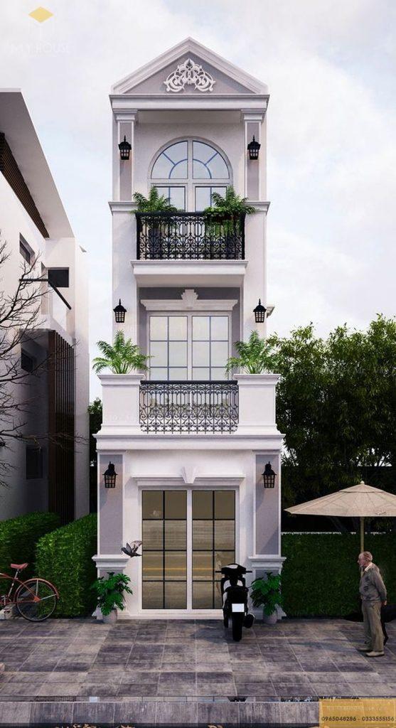 Mặt tiền nhà phố 30m2