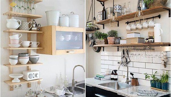 Trang trí bếp phòng trọ