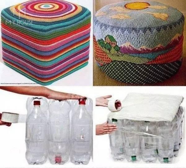 Ghế bằng chai nhựa