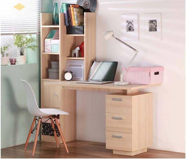 Tủ sách treo tường bằng gỗ công nghiệp đẹp