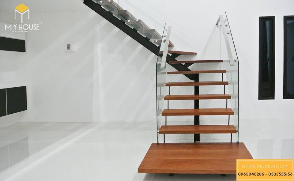 Mẫu cầu thang hiện đại ấn tượng 2020 - M16