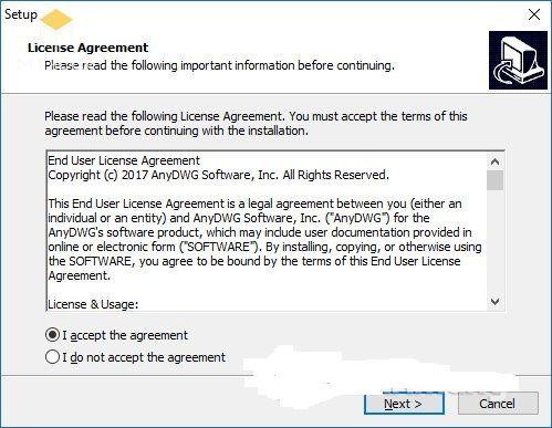 Cách dùng Any PDF to DWG Converter