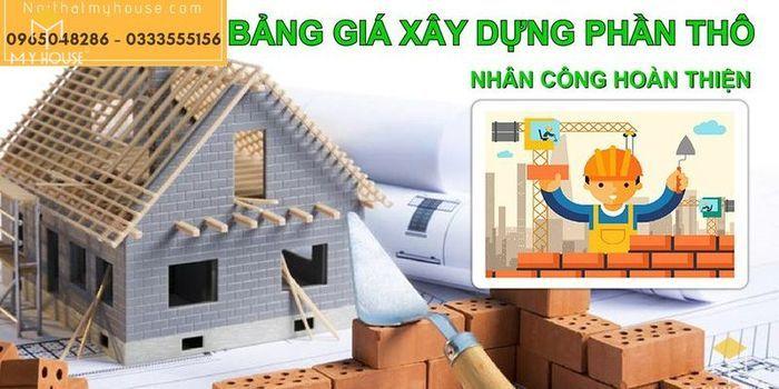 Quy trình xây nhà trọn gói được các nhà thầu xây dựng tiến hành theo 6 bước cơ bản