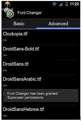 Lỗi font cad trên android