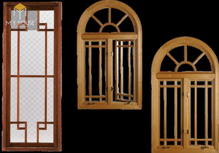 Song chắn cửa sổ gỗ đơn giản sang trọng - M1