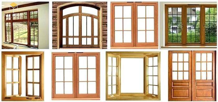 Song chắn cửa sổ gỗ đơn giản sang trọng - M5
