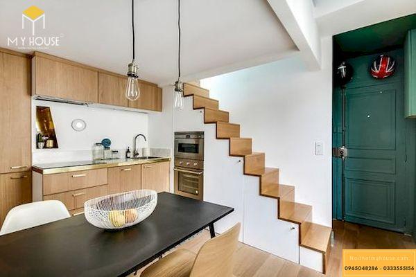 Với thiết kế này bạn sẽ không phải lo sợ khi sống ở một không gian có diện tích nhỏ