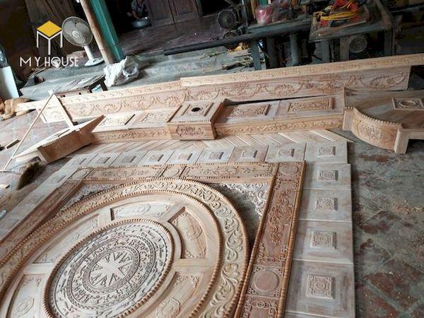 Mẫu trần gỗ đẹp - Hình ảnh 1