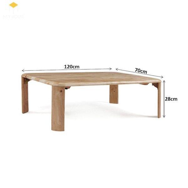 Kích thước bàn ăn kiểu Nhật