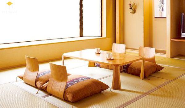 Bàn ăn kiểu Nhật đẹp - Hình ảnh 7