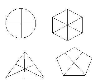 Nhà có hình tam giác, lục giác, hình thang,...