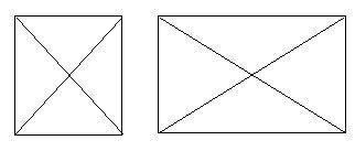 Nhà xây theo hình vuông hoặc hình chữ nhật