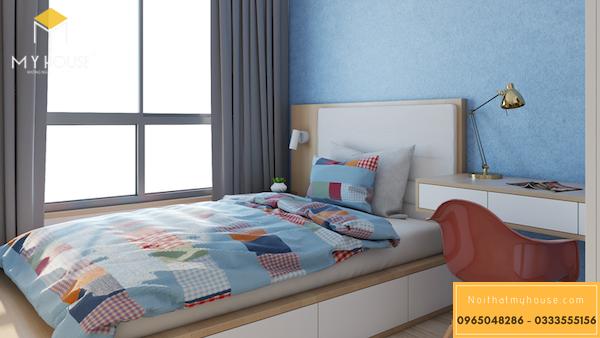 Thiết kế nội thất căn hộ 3 phòng ngủ -2