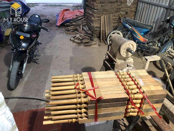 Mẫu con tiện cầu thang gỗ đẹp - Hình ảnh 9
