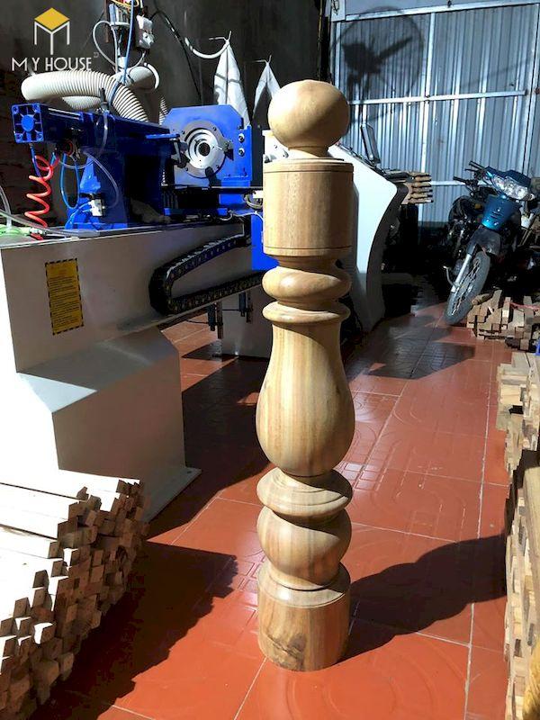 Mẫu con tiện cầu thang gỗ đẹp - Hình ảnh 23