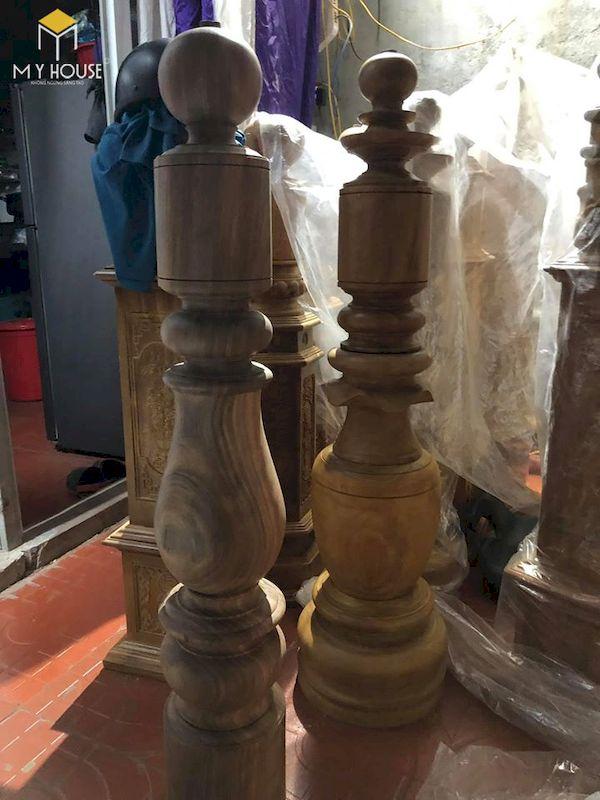 Mẫu con tiện cầu thang gỗ đẹp - Hình ảnh 17
