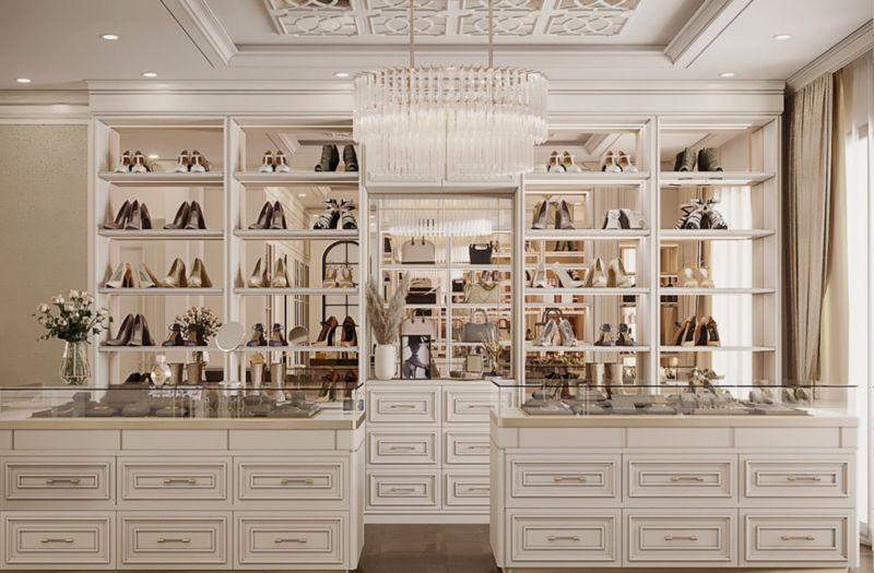 Phòng trưng bày của gia chủ nằm trong phòng master