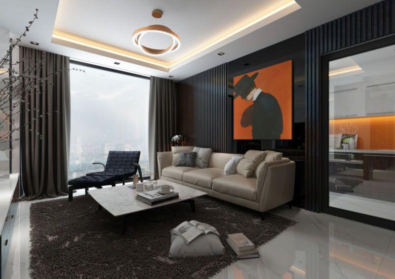 Thiết kế nội thất căn hộ Duplex Sunshine City, Nam Thăng Long